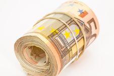 Free Euro Banknotes Stock Photography - 23064002