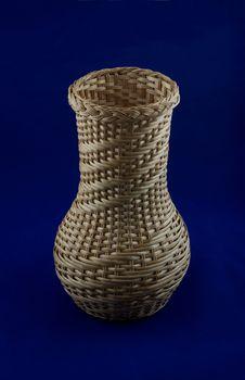 Free Wicker Vase Royalty Free Stock Photos - 23064558