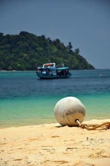 Free Float On The Beach, Thailand Royalty Free Stock Photo - 23065125