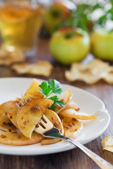 Free Apples With Anchovies Royalty Free Stock Image - 23066386