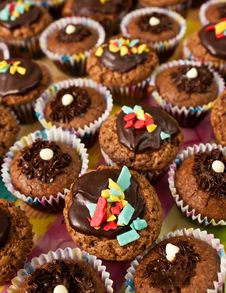 Free Muffins Royalty Free Stock Photography - 23066507