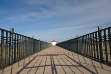 Free Bridge Leading To The House Stock Photo - 23067620