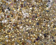 Free Texture Wet Colored Stones Royalty Free Stock Photos - 23068258
