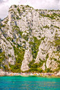 Free Provence Village Cassis Beach And Cliff Stock Images - 23079764