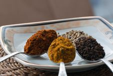 Free A Variety Of Spices Royalty Free Stock Photos - 23070978