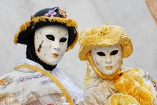 Free Venetian Mask Stock Photography - 23071332
