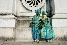 Free Venetian Mask Stock Image - 23071381