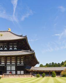 Todai-ji Temple In Nara, Japan Royalty Free Stock Photography