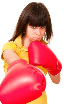 Free Sexy Puncher Stock Photos - 23075173
