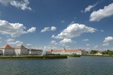 Free Nymphenburg Schloss Royalty Free Stock Photography - 23076097