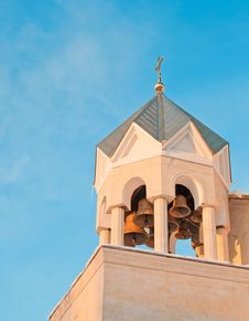 Free Bell Tower Of The Temple Stock Images - 23076504