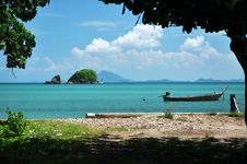 Free Beautiful View From Shore, Thailand Royalty Free Stock Images - 23076899