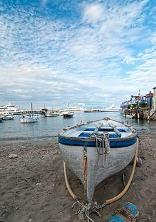 Free Capri, Boat Royalty Free Stock Photo - 23077265