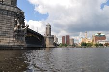 Free Longfellow Bridge Royalty Free Stock Photography - 23079987