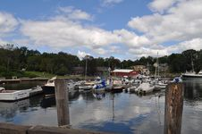 Camden Port, Maine Royalty Free Stock Images