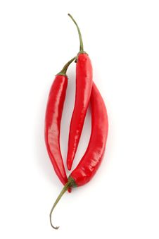 Free Red Chili Peppers Stock Image - 23082411