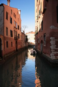 Free Everyday Venice Royalty Free Stock Photography - 23083137