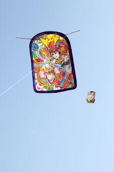 Free Japanese Paper Kite Stock Photos - 23087373