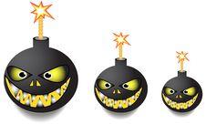 Free Bombs Royalty Free Stock Photos - 23088478