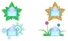 Free Four Envelopes Royalty Free Stock Image - 23088526