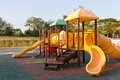 Free Children Playground In Park Royalty Free Stock Photo - 23093075