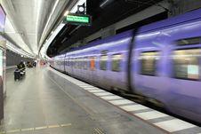 Free High Speed Train Royalty Free Stock Photos - 23092398