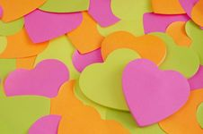 Free Paper Heart Stock Photo - 23093460