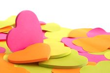 Free Paper Heart Stock Image - 23093461