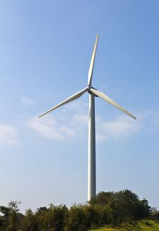 Free Wind Energy Turbine Stock Photography - 23094002