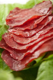 Free Ham And Lettuce Royalty Free Stock Photography - 23094147