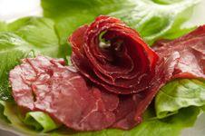 Free Ham And Lettuce Stock Photo - 23094190