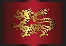 Free Traditional Asian Dragon, 2012 Royalty Free Stock Photos - 23095318
