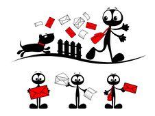 Free Postman Stock Photo - 23095920