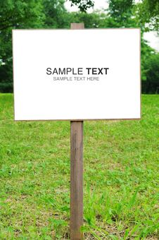 Free Signboard Royalty Free Stock Photography - 23096777