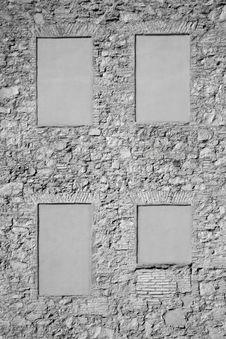 Free Irregular Stone Wall Stock Photo - 23096800