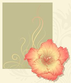 Free Vector Greeting Card. Stock Image - 23097161