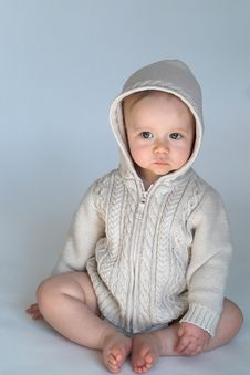 Free Sweater Baby Stock Photo - 2311680
