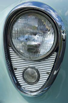 Free Chrome Headlamp 1 Royalty Free Stock Photos - 2312008