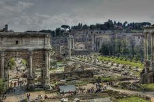 Free Forum Romanum Stock Images - 2312314
