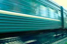 Train Speed Background Royalty Free Stock Images