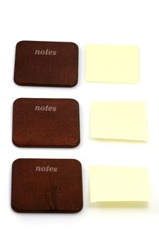 Wooden Notes Royalty Free Stock Image