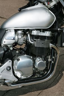 Free Modern Sports Motorcycle Royalty Free Stock Image - 2312636