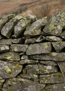 Free Old Drystone Wall Stock Photography - 2312702