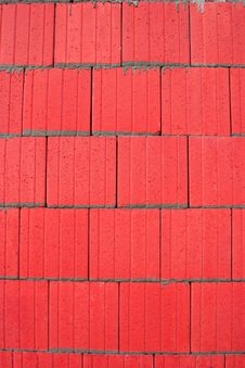 Free Red Tiles Royalty Free Stock Photos - 2312868