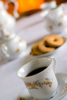 Free Coffee Set Stock Photography - 2313732
