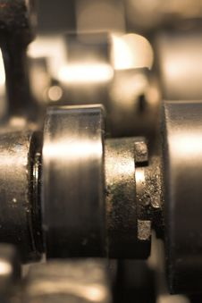 Free Printing Machine Close Up Stock Image - 2313961