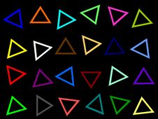 Free Colorful Triangles All Over Royalty Free Stock Photo - 2314825