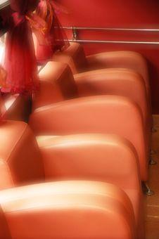 Free Orange Chairs Stock Image - 2315291