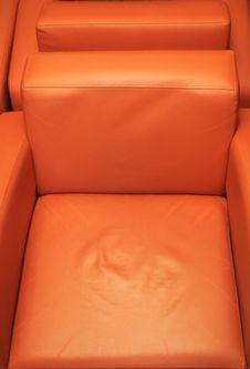 Free Orange Leather Stock Photo - 2315330