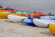 Free Sea Kayaks Royalty Free Stock Photos - 2315758